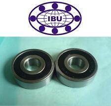 2 Stk. IBU Laufrolle  LR-201 NPPU = LR201-2RSR ballig = 361201R  12x35x10 mm