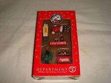 Department 56 Miniature Ornament Set - 75th Anniversary Coca-Cola Santa Set of 5