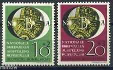 FRANCOBOLLI federale esposizione Wuppertal 1951 (s5652)