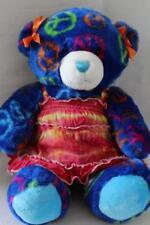"BUILD A BEAR BABW 2010 Soft Stuffed PEACE BEAR Justice Top Plush/Toy 15"" (bab3)"