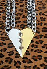 Topshop Women's Necklace Reflective Modern Mirrored Pendant