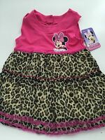 NEW Girls Kid Disney Minnie Mouse Red Dots tutu long sleeves Tops Tee T-shirt