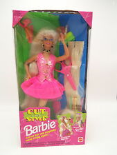 Barbie Doll ' Cut And Style ' Hair attaches Magically (Blonde) Mattel #12639 NEW