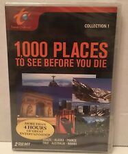 Travel Channel Collection 1 - 1000 Places to See Before You Die - DVD 2 Disc Set