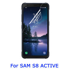 Hd Soft Clear Screen Protector Film Guard For Samsung Galaxy S8 Active G892