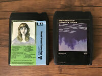 Lot Of 2: VINTAGE FERRANTE & TEICHER 8 TRACK TAPES-- Untested.