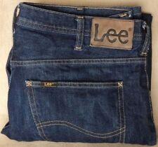 Lee Indigo, Dark wash Low Rise Big & Tall Size Jeans for Men