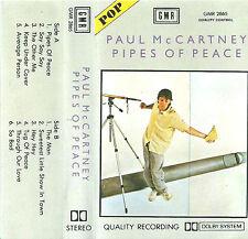 PAUL MCCARTNEY PIPES OF PEACE IMPORT SAUDI GMR CASSETTE ALBUM 11 TRACKS BEATLES