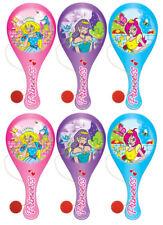 6 princesse en bois paddle chauves-souris - butin / sac de fête charges Kids / BIFF / fille