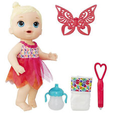 Baby Alive Face Paint Fairy Doll Blonde Magical Interactive Play Dress Up Toy