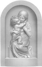 BIG SISTER HUGS CUDDLES Naked BABY BROTHER FAMILY LOVE, 1857 Art Print Engraving