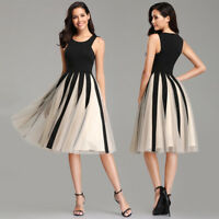 UK Ever-Pretty Woman Evening Party Ball Gowns Dress A-line Short Casual Dresses