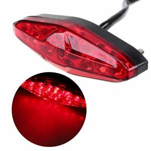 LED Universal Brake Running Rear Light Taillight Fit For Kawasaki Motorcycle