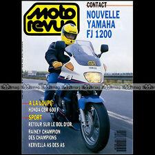 MOTO REVUE N°2960 YAMAHA FJ 1200 HONDA CBR 600 F RVF 750 HRC APRILIA 125 FUTURA