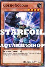 Yu-Gi-Oh! Golem Gogogo STARFOIL SP13-IT003 Zexal Fortissima Carta di Yuma