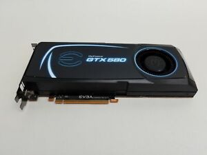 EVGA GeForce GTX580 SC 1.5GB GDDR5 PCI-E x16 Desktop Video Card