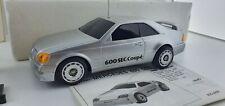 Mercedes 600 SEC NIKKO 20686 Radio Control RC toy car 80s 27Mhz OVP boxed works