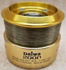 Team Daiwa 2000 Advantage Fishing Reel Extra Spool New With Line