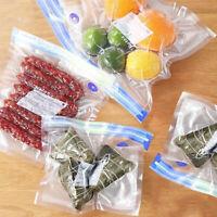 10/20PCS Vacuum Sealed Bags Food Saver Storage Hand Pump Reusable W/ Four Clips