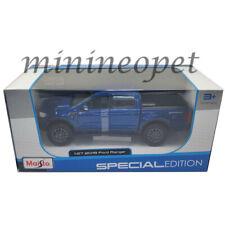 MAISTO 31521 2019 FORD RANGER PICK UP TRUCK 1/27 DIECAST MODEL CAR BLUE