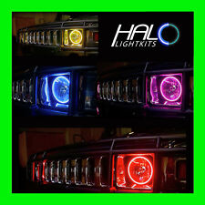2004-2009 ORACLE HUMMER H2 COLORSHIFT LED LIGHT HEADLIGHT HALO KIT w/REMOTE