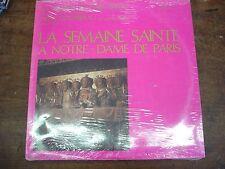 LA SEMAINE SAINTE A NOTRE-DAME DE PARIS- PIERRE COCHEREAU- LP