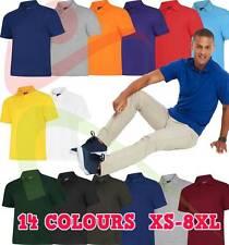 Uneek Unisex Men's DELUXE POLOSHIRT Workwear Casual Leisure T SHIRT TOP XS - 8XL