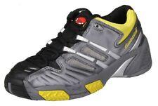 Boy's Babolat Team Andy Roddick Tennis Shoes - Size 6 - Gray Black Yellow