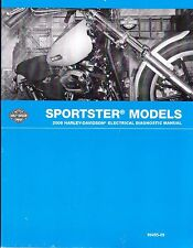 2009 Harley Sportster 883 1200 Electrical Diagnostic Service Manual 99495-09