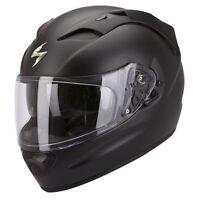 casque casco helmet SCORPION EXO 1200 AIR NOIR MAT UNI taille XL 61 62