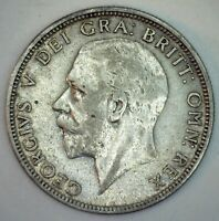 1931 Great Britain Silver Florin Coin XF Extra Fine Silver UK Coin George V
