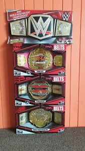 TNA / WWE Championship Title Belt Replicas Brand New Rare (Global, X-Division)