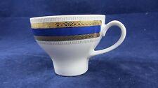 Eschenbach Porzellan Kaffeetasse 60er Jahre Dekor kobalt-gold