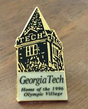 Atlanta 1996 Georgia Tech Home of Olympic Village Tower Olympic Pin
