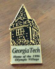 Atlanta 1996 Georgia Tech Home of Olympic Village Tower Olympic Pin