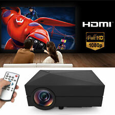 5000 Lumens 1080P 3D LED Digital Home Theater Projector Multimedia HDMI USB OBY