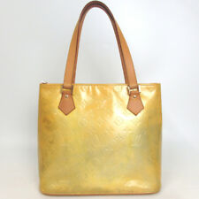 Authentic LOUIS VUITTON Vernis Houston Tote Bag Patent leather/Leather[Used]