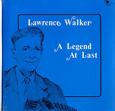 Lawrence Walker ‎Sealed Cajun Swallow 1983 LP A Legend At Last