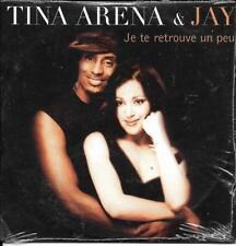 CD CARTONNE CARDSLEEVE 3T TINA ARENA & JAY JE TE RETROUVE UN PEU NEUF SCELLE