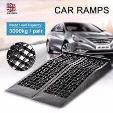 2pcs Garage Workshop Heavy Duty Vehicle Car Ramps Lifts 3000 kg Strong Ramp UK