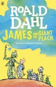 James and the Giant Peach - Paperback By Dahl, Roald - GOOD