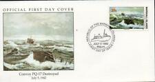 Marshall Islands 1992 Convoy PQ-17 Destroyed FDC