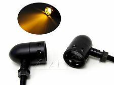 CLEAR Motorcycle Bullet LED Indicator Turn Signal Lights for Kawasaki Cafe Racer