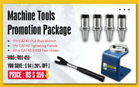 SFX 4 Pc CAT40 ER32 Tool Holder + 1 CAT40 Wrench + 1 CAT40 Fixture Promotion
