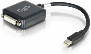 C2G 54311 Mini DisplayPort Male to Single Link DVI-D Female Adapter Converter