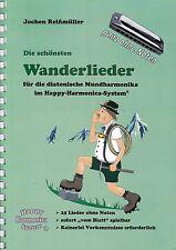 Harmonica-juego cuaderno sin notas: las más bellas wanderlieder-para Bluesharp