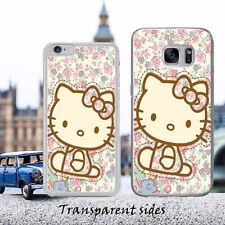 Cutie Vintage Flower Hello Kitty Phone Case