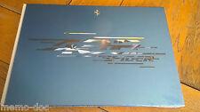 HB Brochure FERRARI 488 SPIDER   : catalogue cartonné de 80 pages + étui  GB /IT