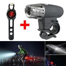 Luz LED Recargable Para Bicicleta Luz de Faro Frontal más Luz Trasera