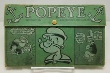 Vintage Popeye the Sailor School Pencil Box Case 1934 King Features Syndicate